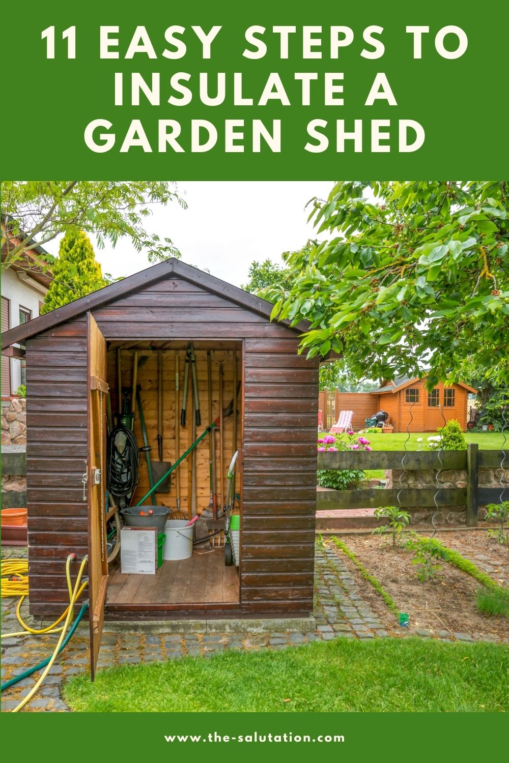 11 Easy Steps to Insulate a Garden Shed 1