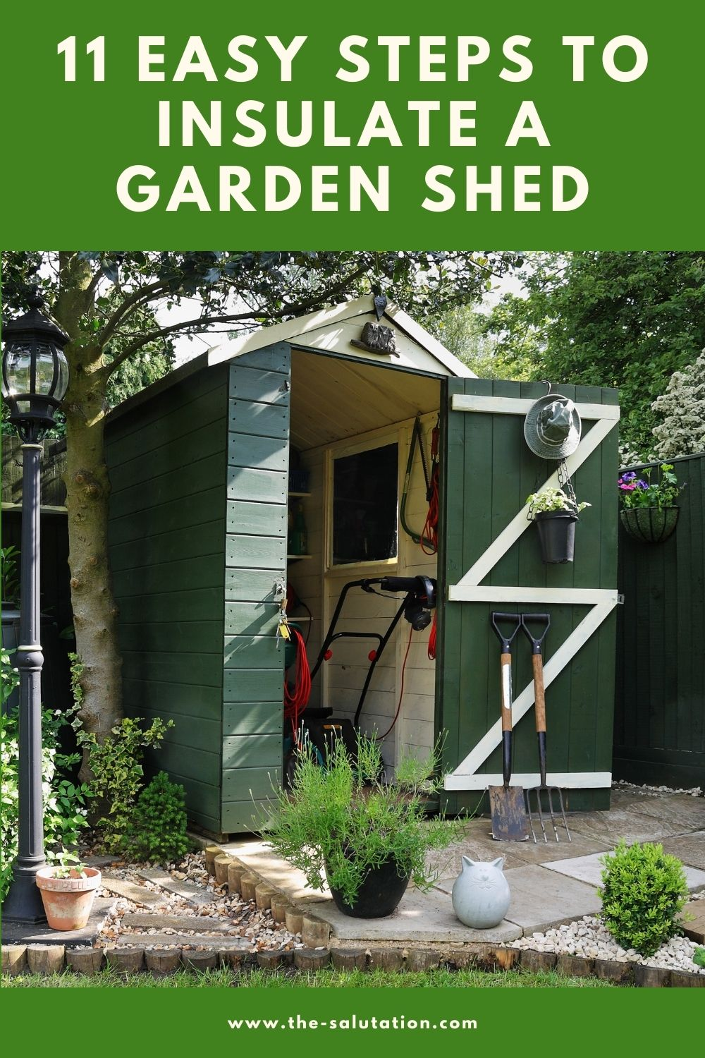 11 Easy Steps to Insulate a Garden Shed 2