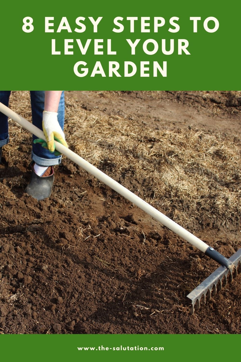 8 Easy Steps to Level Your Garden 1
