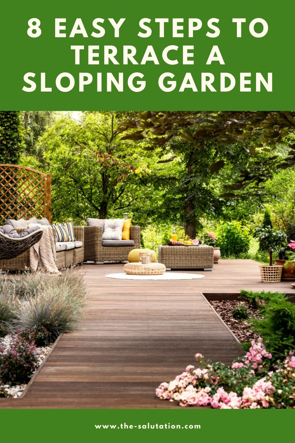 8 Easy Steps to Terrace a Sloping Garden 1