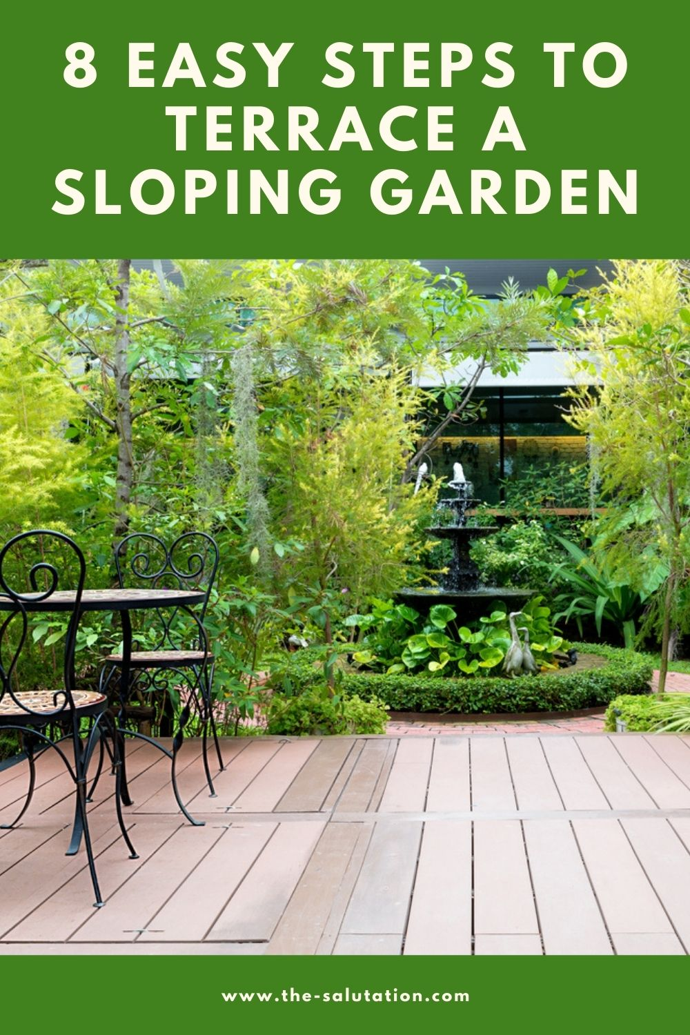 8 Easy Steps to Terrace a Sloping Garden 2