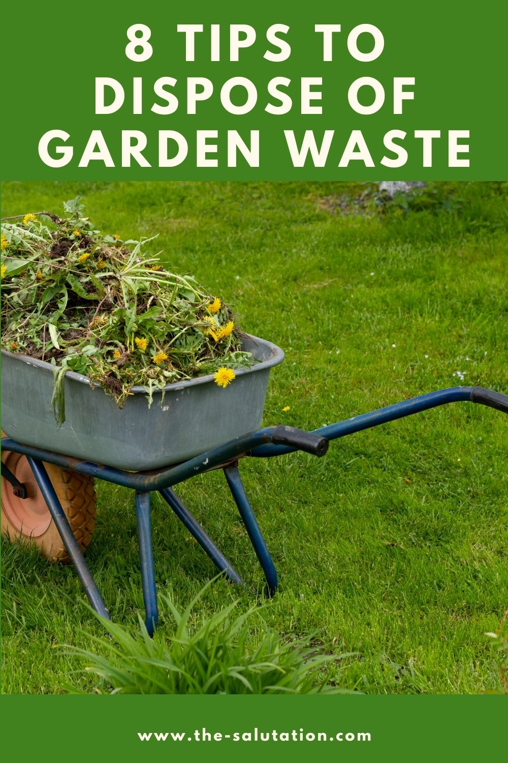 8 Tips to Dispose of Garden Waste 1