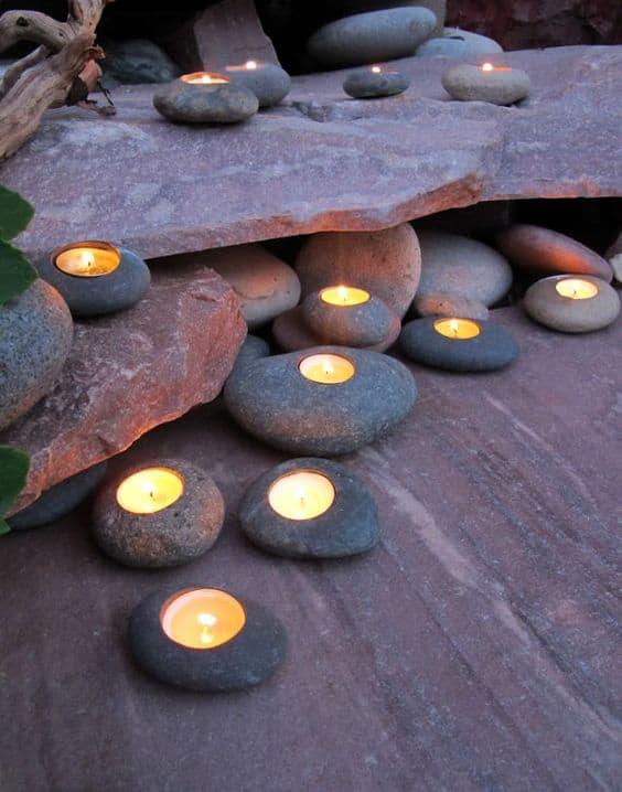 Candles in the Rock