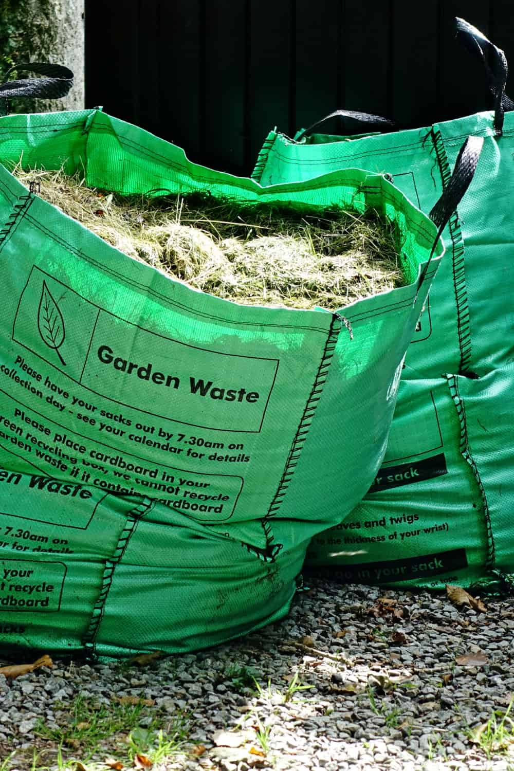 Drop the waste at a local landfill or a household waste recycling centre