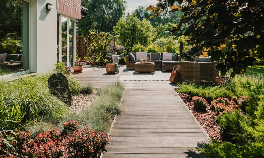 Protect retaining walls from moisture