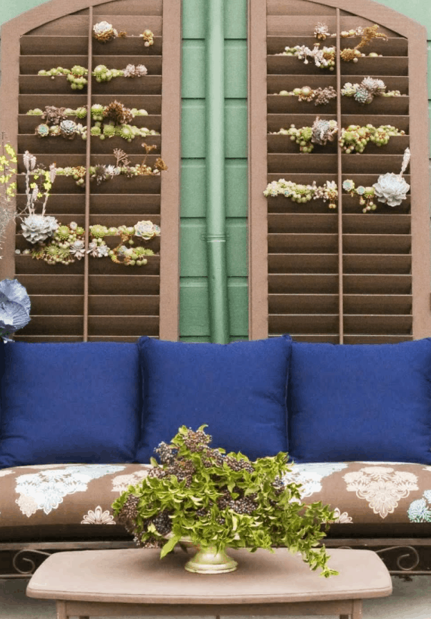 Shutters and Pallets