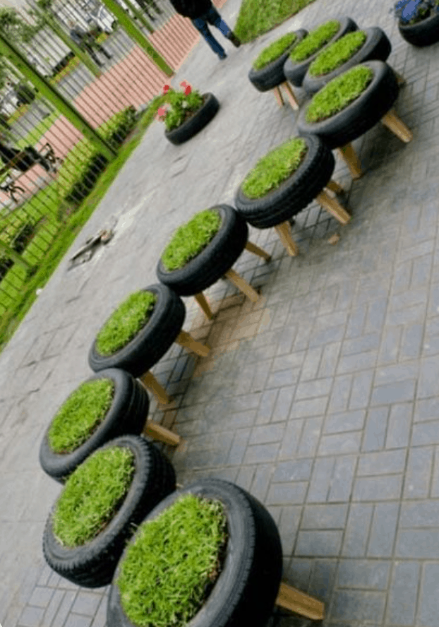 Tiers and Tyres
