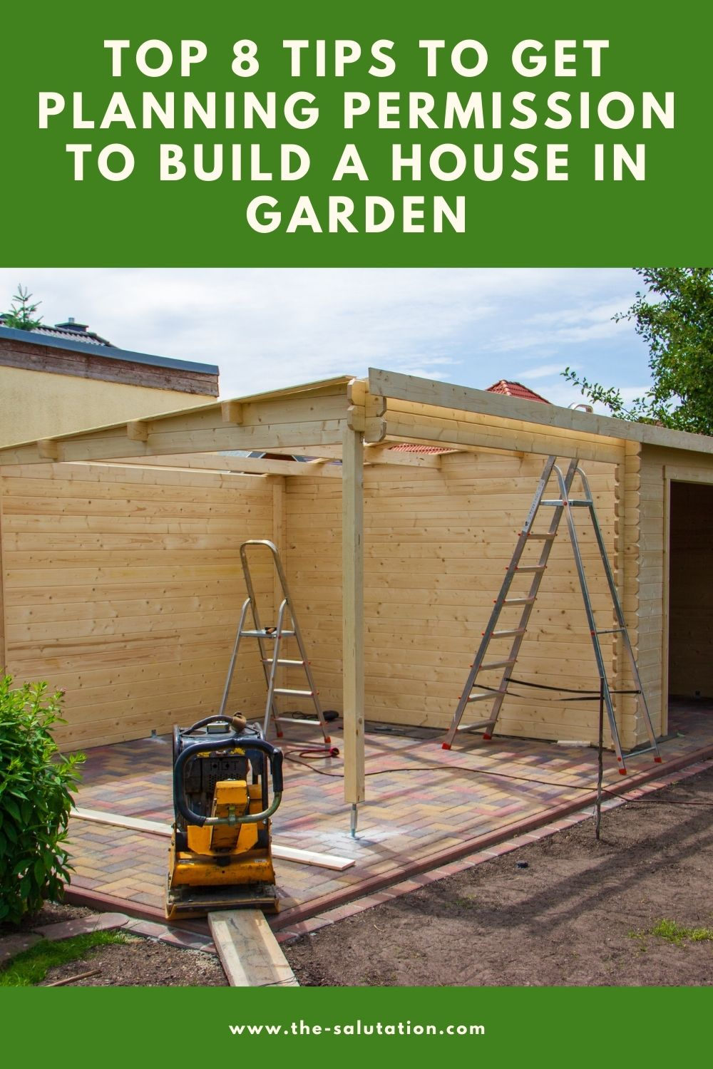 Top 8 Tips to Get Planning Permission to Build a House in Garden 1