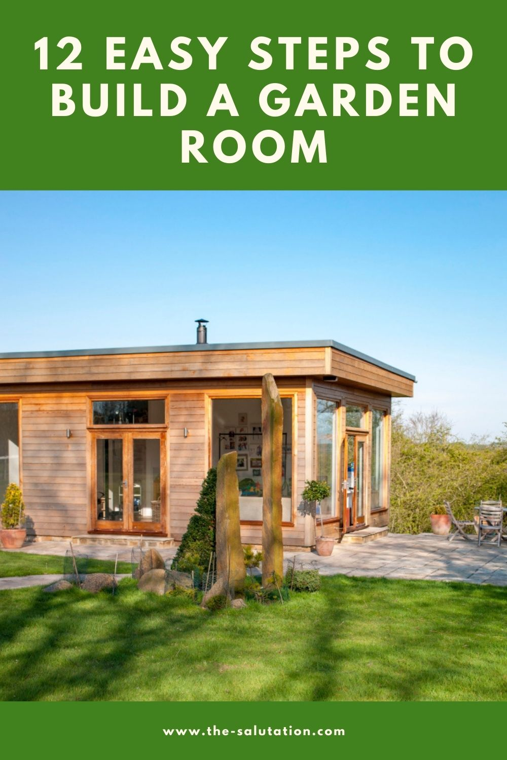 12 Easy Steps to Build a Garden Room 2