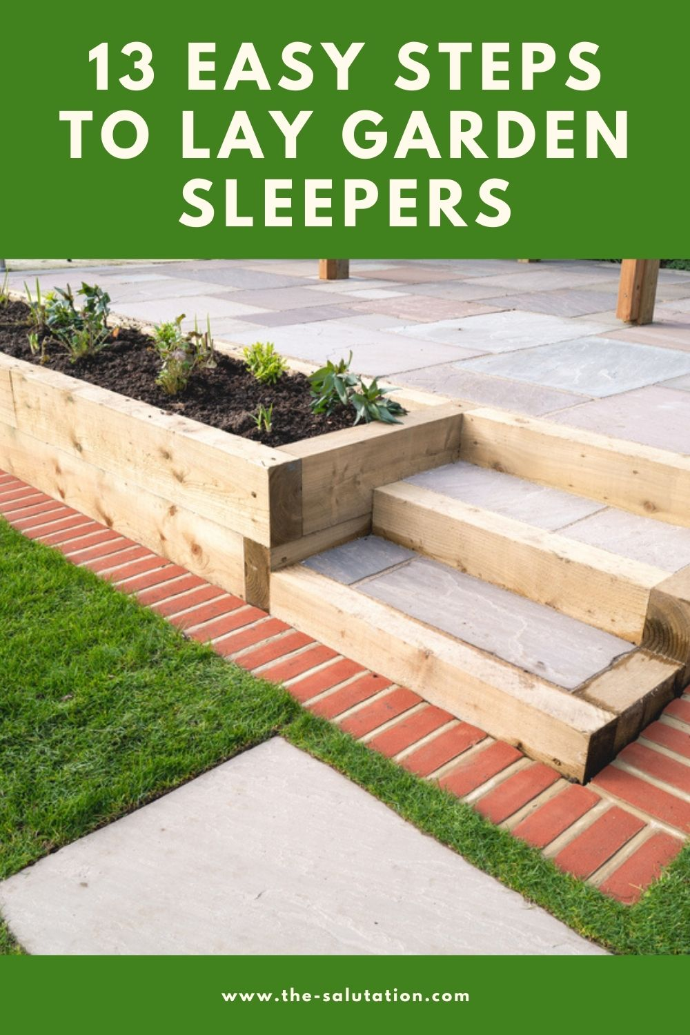 13 Easy Steps to Lay Garden Sleepers 2