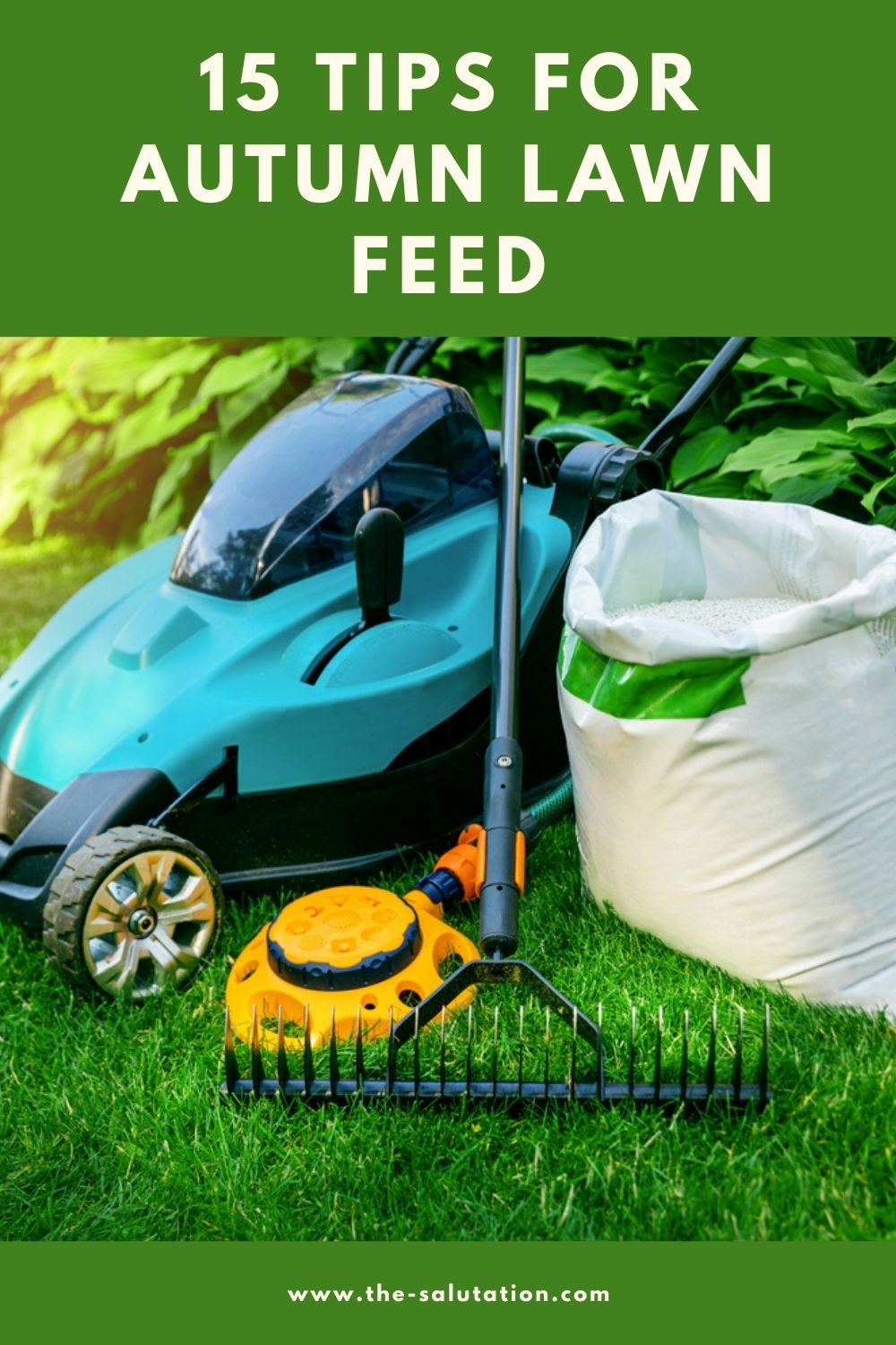 15 Tips for Autumn Lawn Feed 1