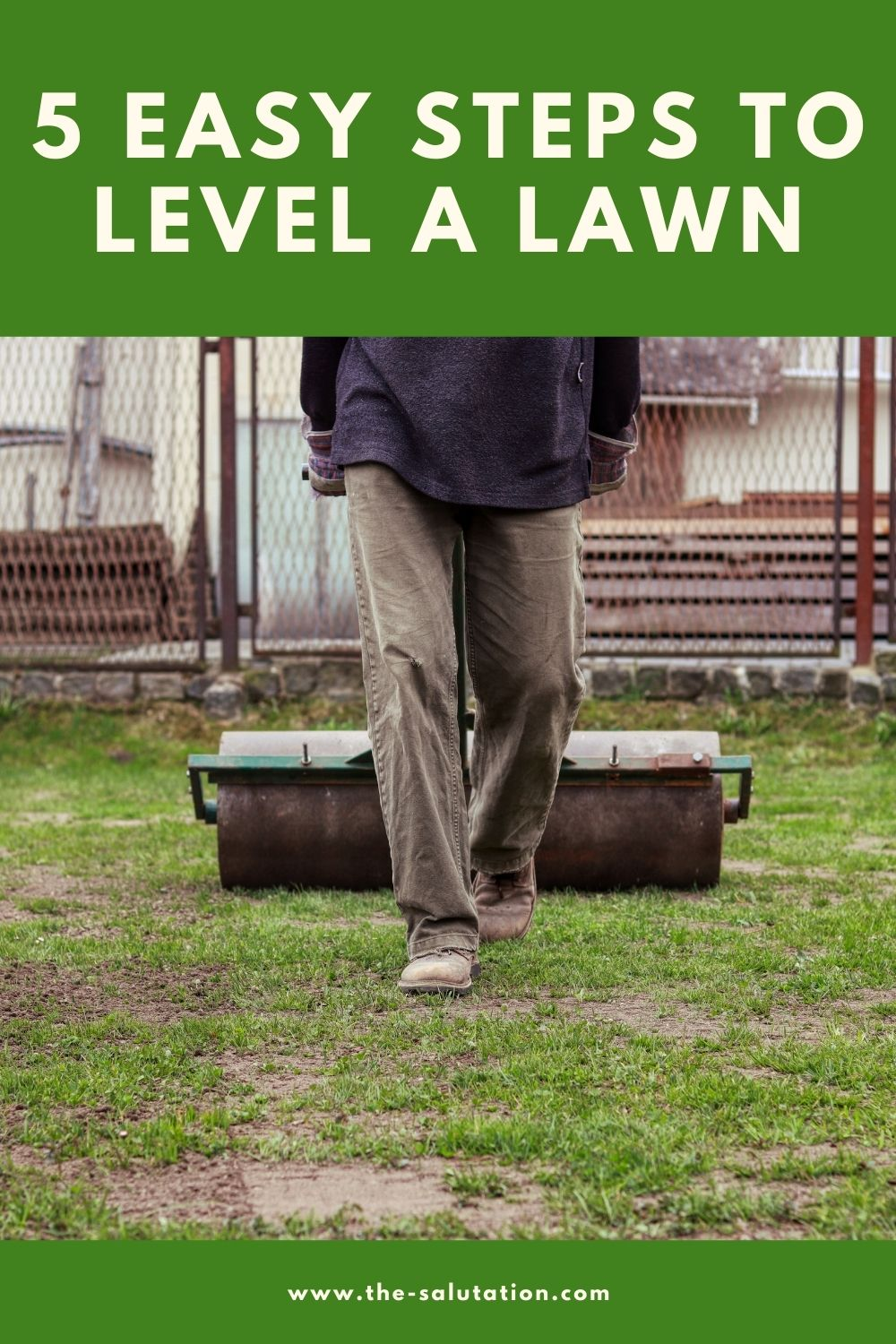 5 Easy Steps to Level a Lawn 1