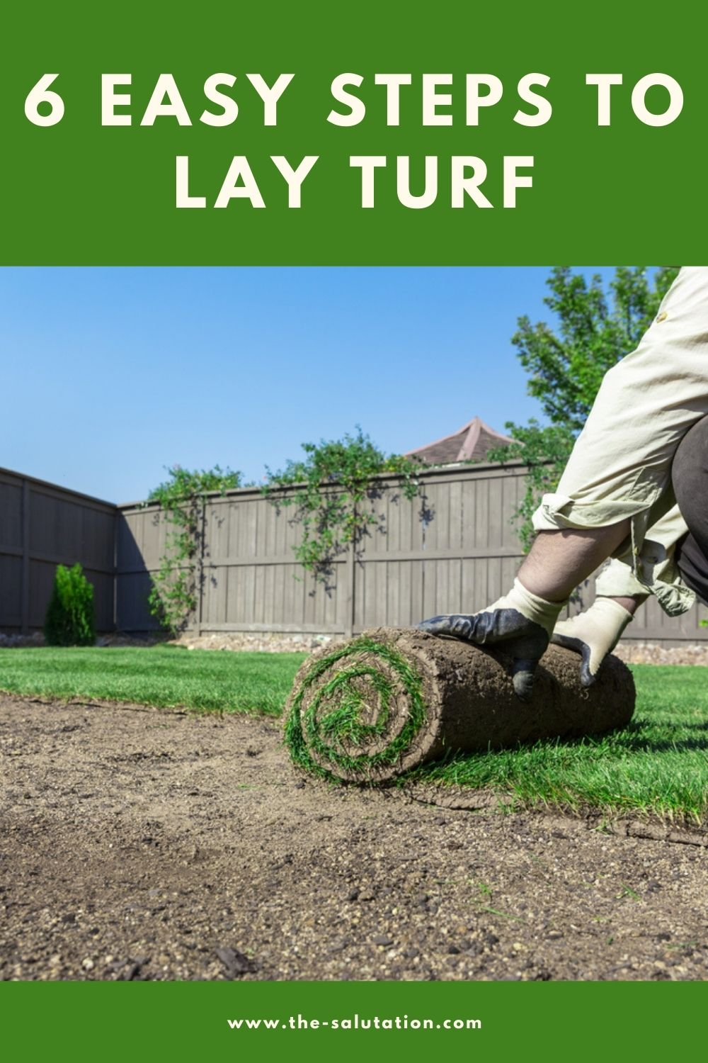 6 Easy Steps to Lay Turf 1