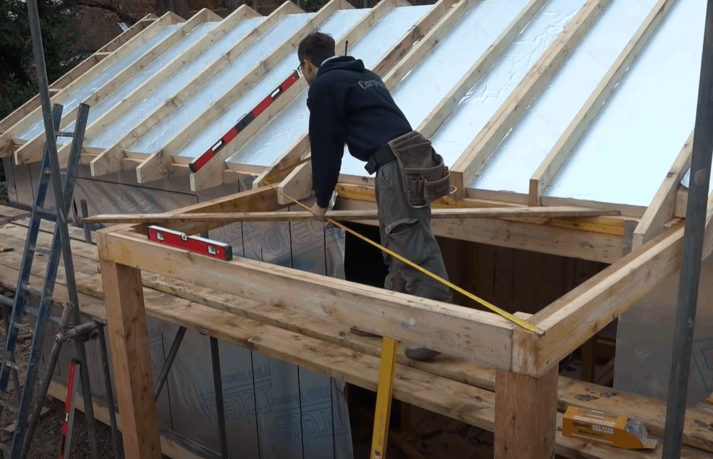 Build the roof