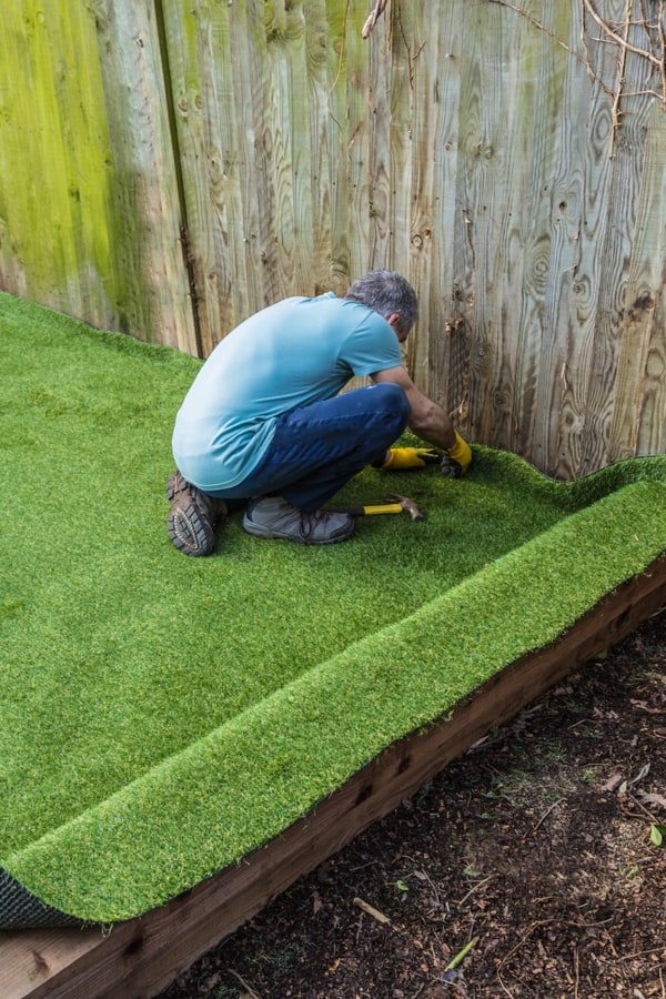 Lawn installation charges