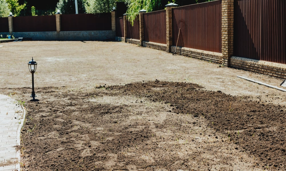 Measure the space for your new lawn