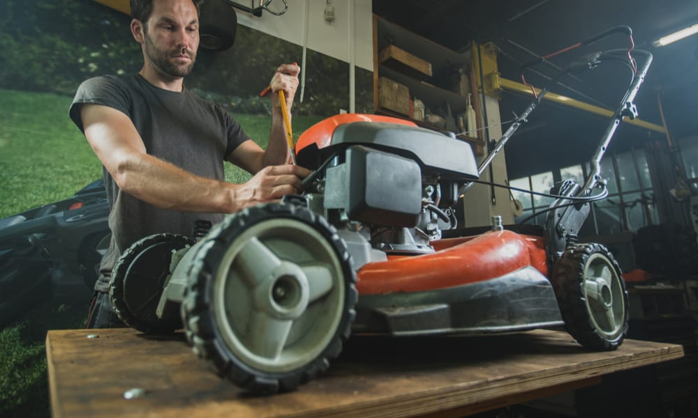Service your mower regularly