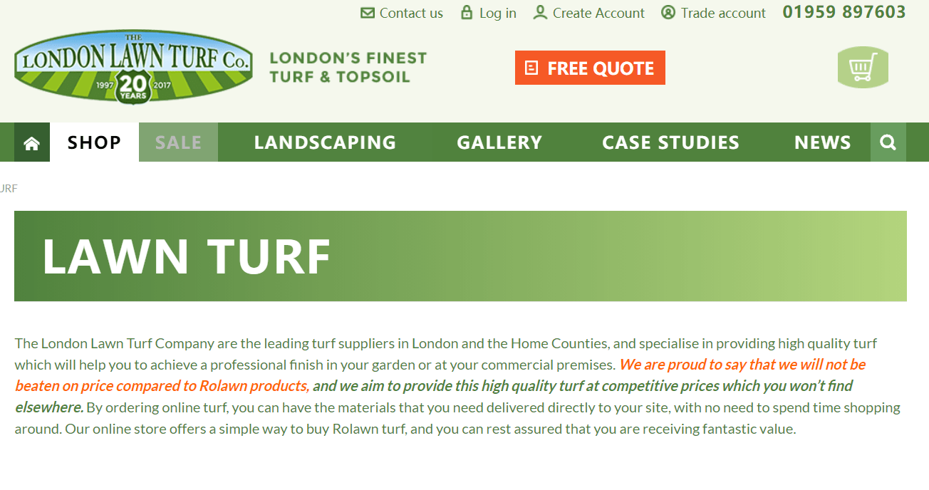 The London Lawn Turf Co.